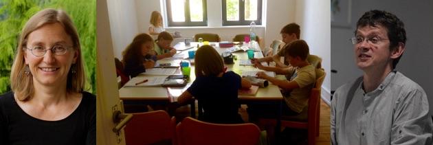 Illustrer Besuch in der Jugendschreibwerkstatt YEAH-10-15!