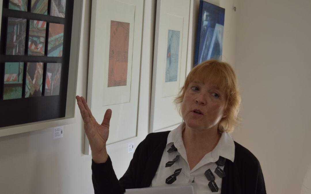 Ausstellung und Vernissage. Maren Giljohann zeigt CONTAINER