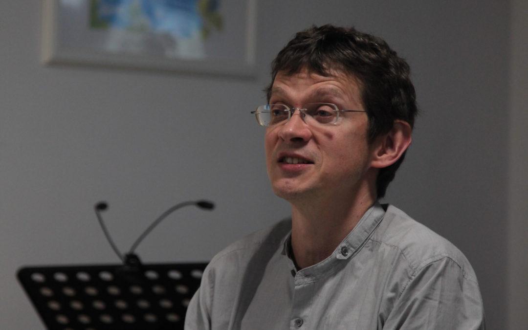 Markus Lemke las aus seinem neu erschienenen Gedichtband