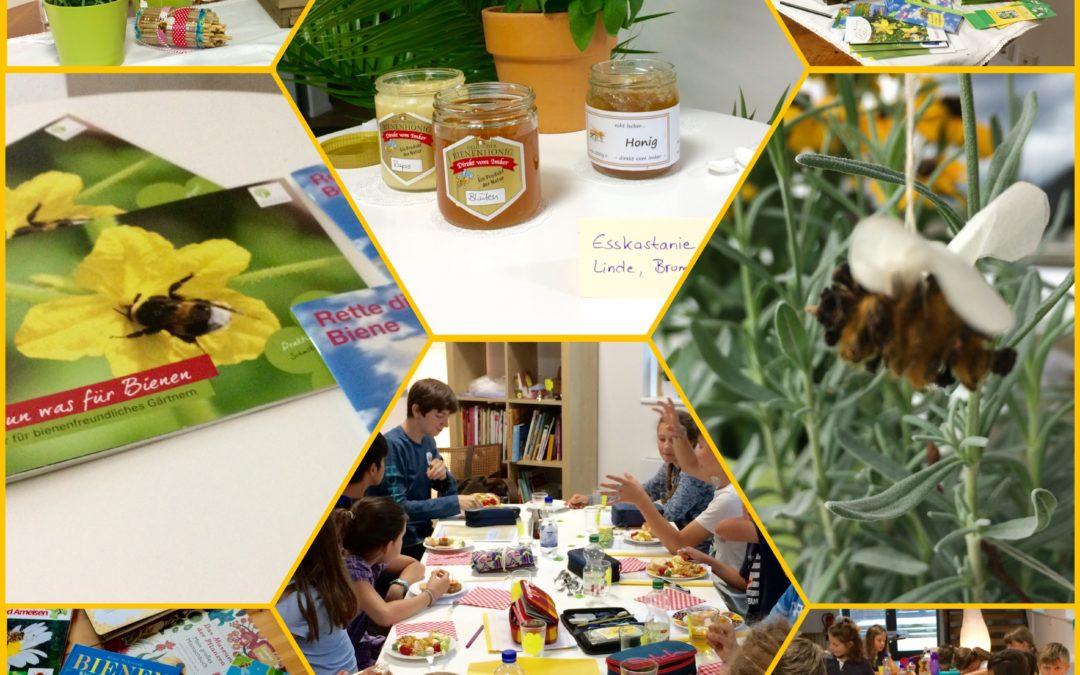 Wir retten uns die Bienen. Hallo-Welt-Seminar von LESEWEIS®