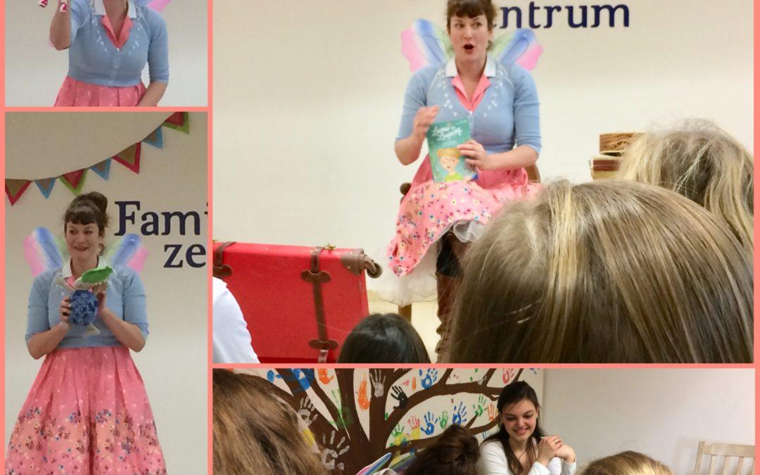 Kinderbuchlesung mit Cally Stronk aus Berlin
