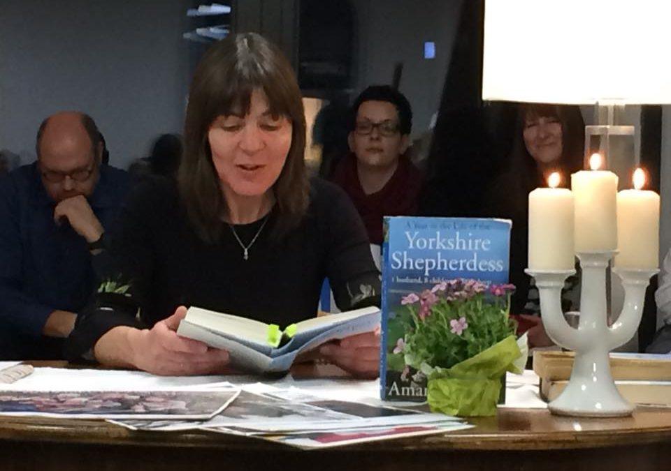 Lesung mit Ilka Schlüchtermann: Die Schäferin von Yorkshire