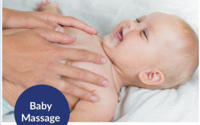 Baby-Massage-Kurs. Jetzt anmelden!